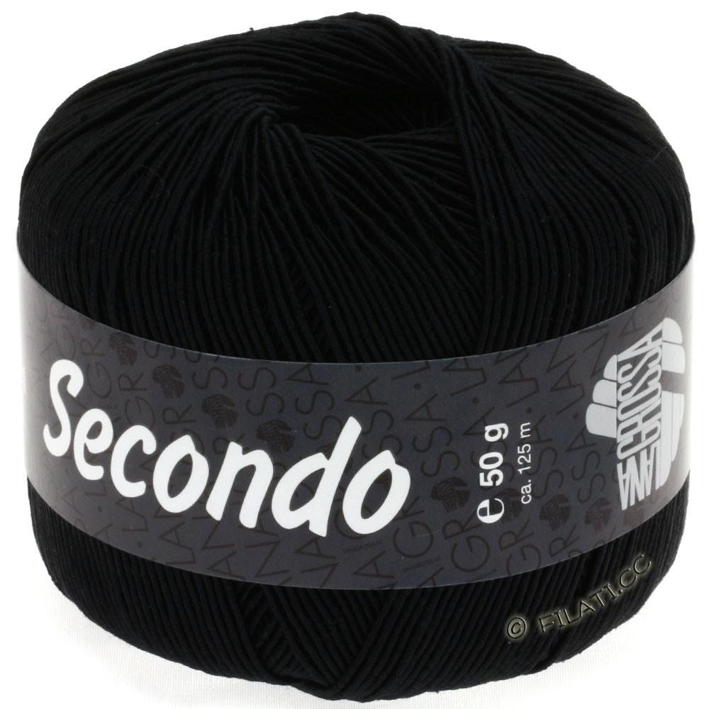 Lana Grossa SECONDO | 12-чёрный