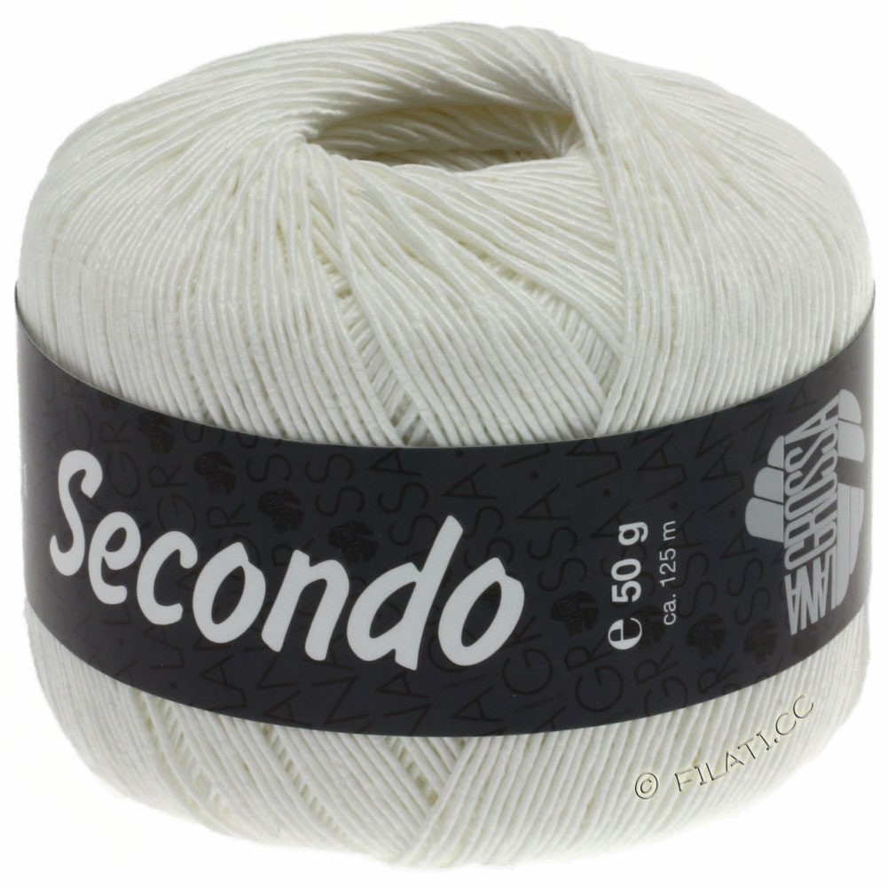 Lana Grossa SECONDO | 15-белый