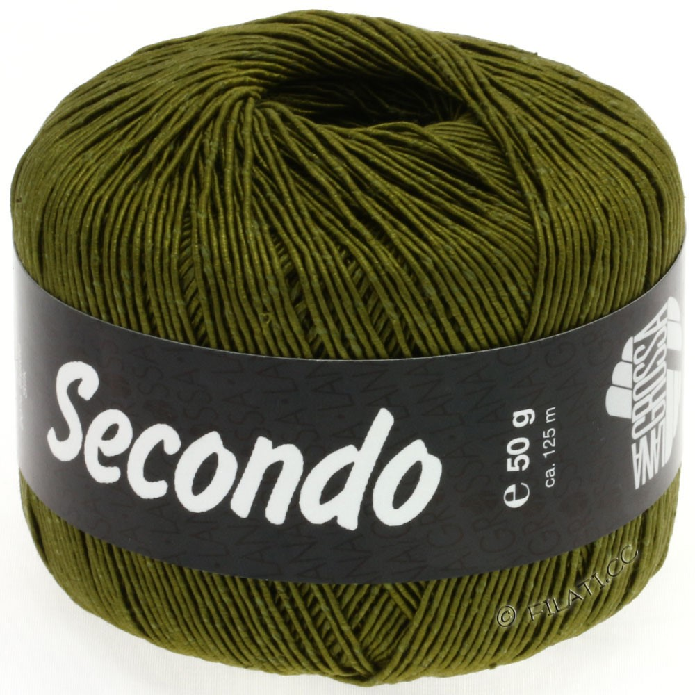 Lana Grossa SECONDO | 23-оливковый