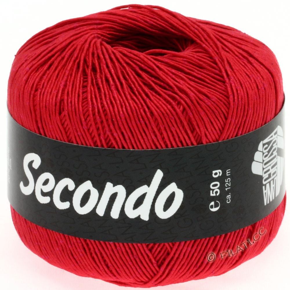 Lana Grossa SECONDO | 36-красный