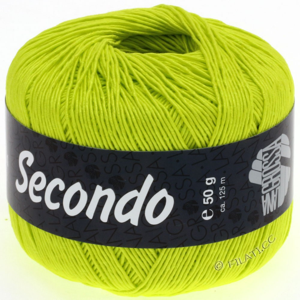Lana Grossa SECONDO | 51-жёлтый неон