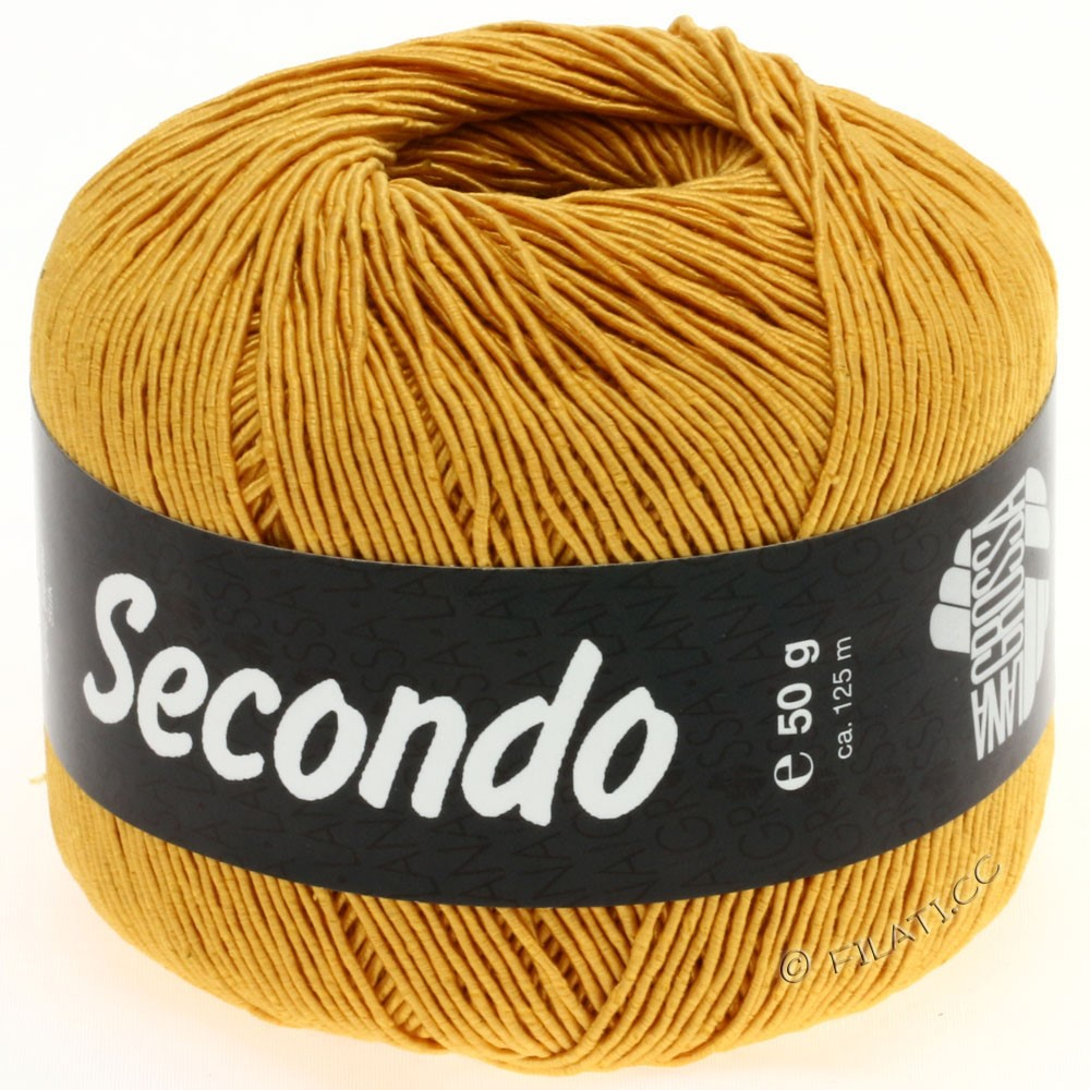 Lana Grossa SECONDO | 58-золотисто-жёлтый