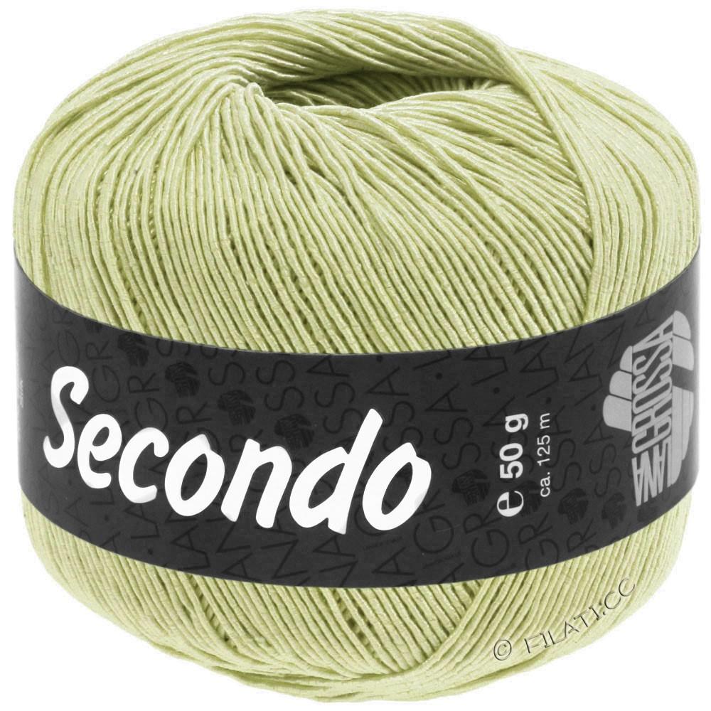 Lana Grossa SECONDO   88-зеленовато-желтый