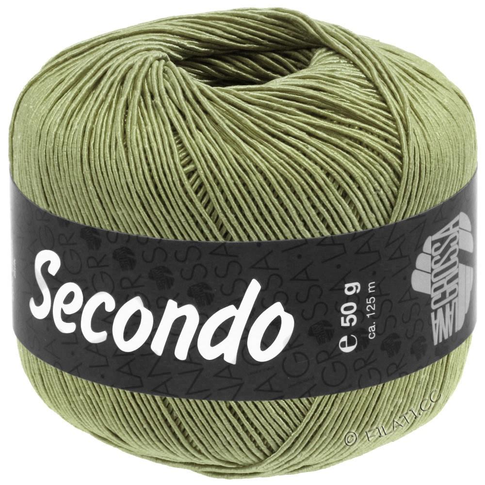 Lana Grossa SECONDO   89-оливковый