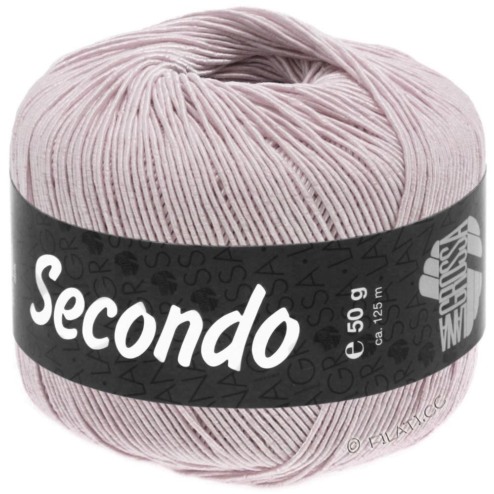 Lana Grossa SECONDO   92-бледно-фиолетовый