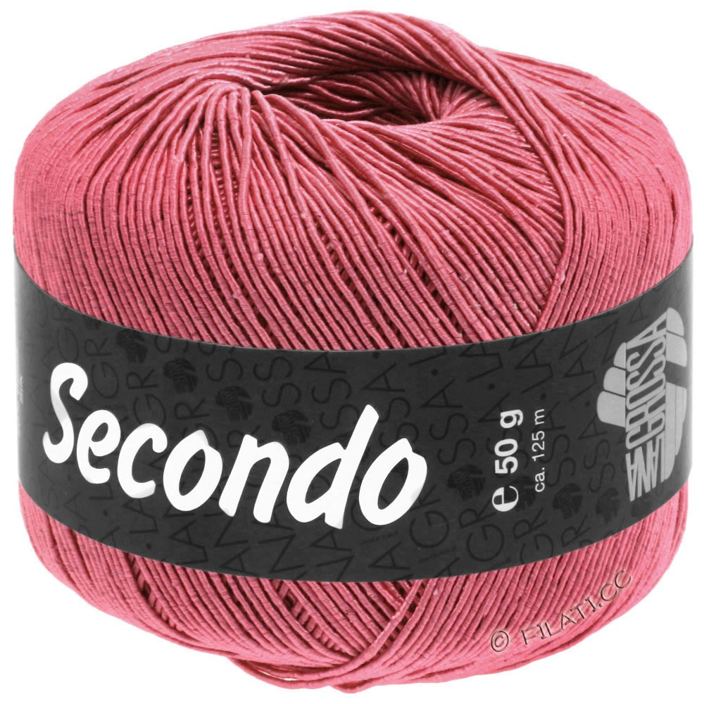 Lana Grossa SECONDO   94-тёмный жемчужно-розовый