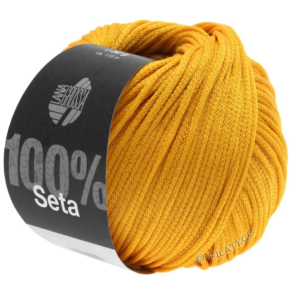 Lana Grossa SETA | 08-желтый