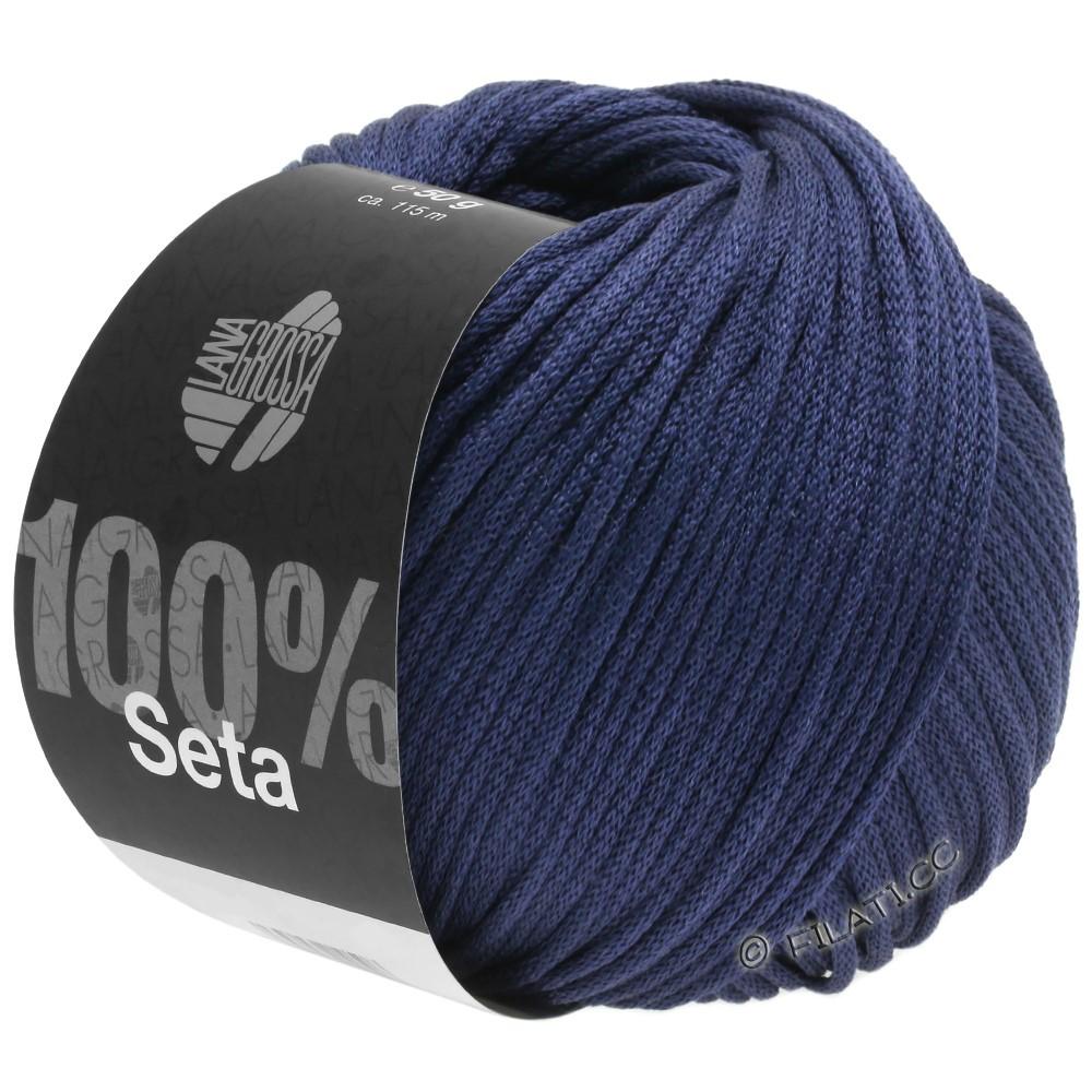 Lana Grossa SETA | 10-тёмно-синий