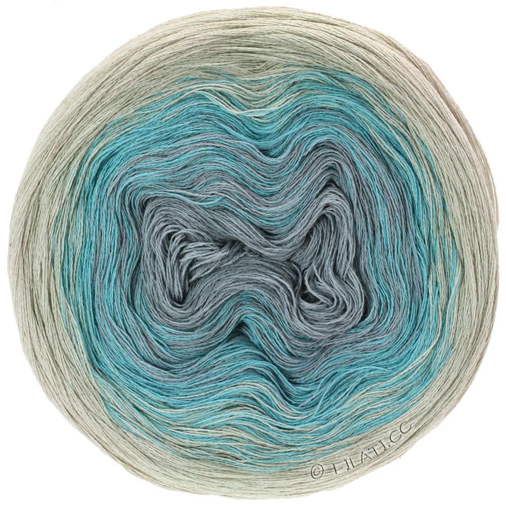 Lana Grossa SHADES OF COTTON LINEN | 704-натуральный/светло-голубой/светло-серый/серый