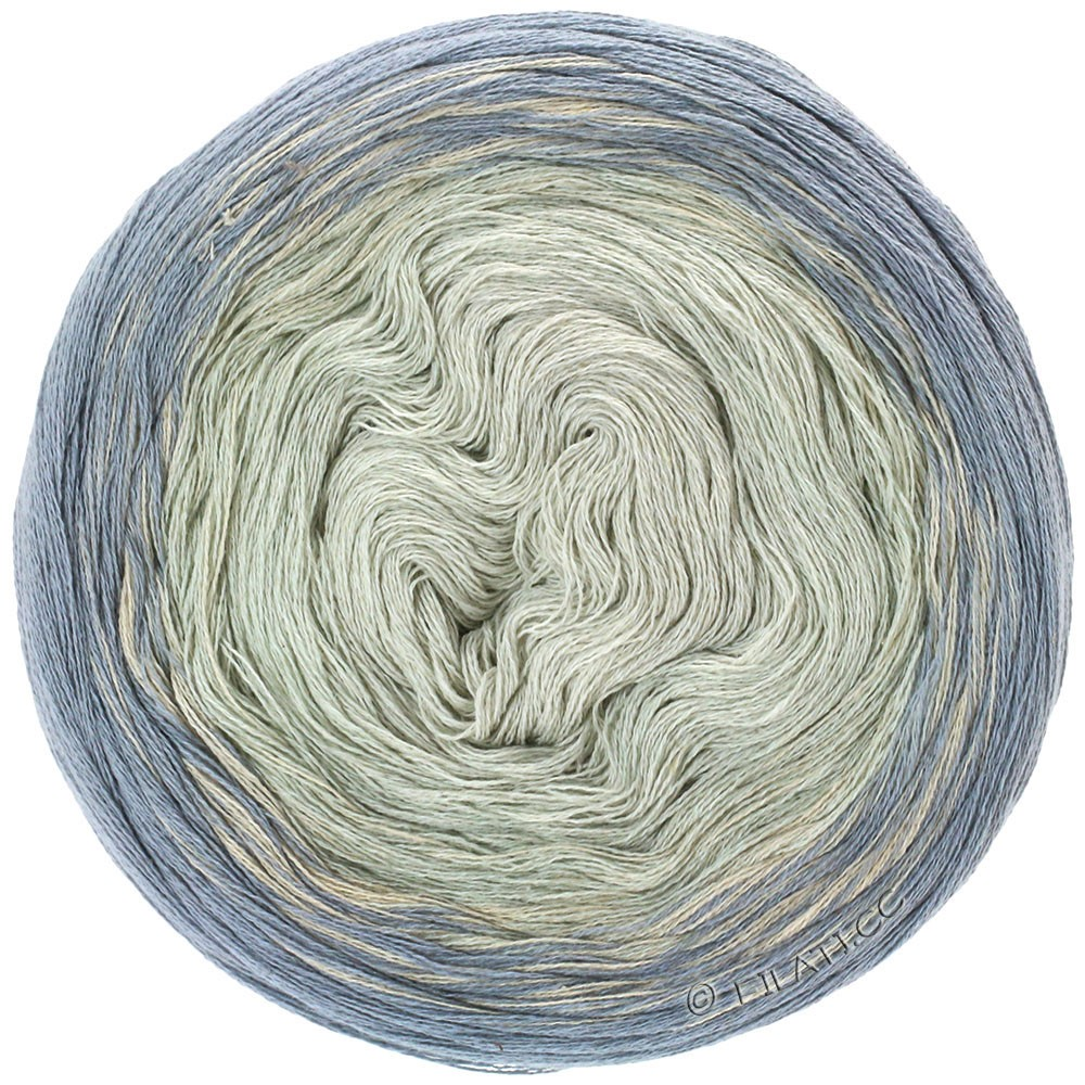 Lana Grossa SHADES OF COTTON LINEN | 708-серый/светло-серый/чисто-белый/натуральный