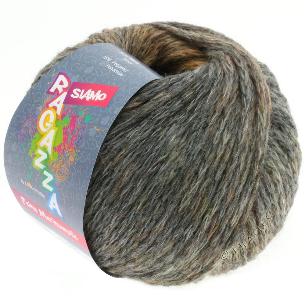 Lana Grossa SIAMO (Ragazza) | 05-легко коричневый/серый меланжевый
