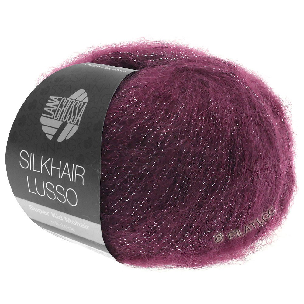 Lana Grossa SILKHAIR Lusso | 905-бургунд