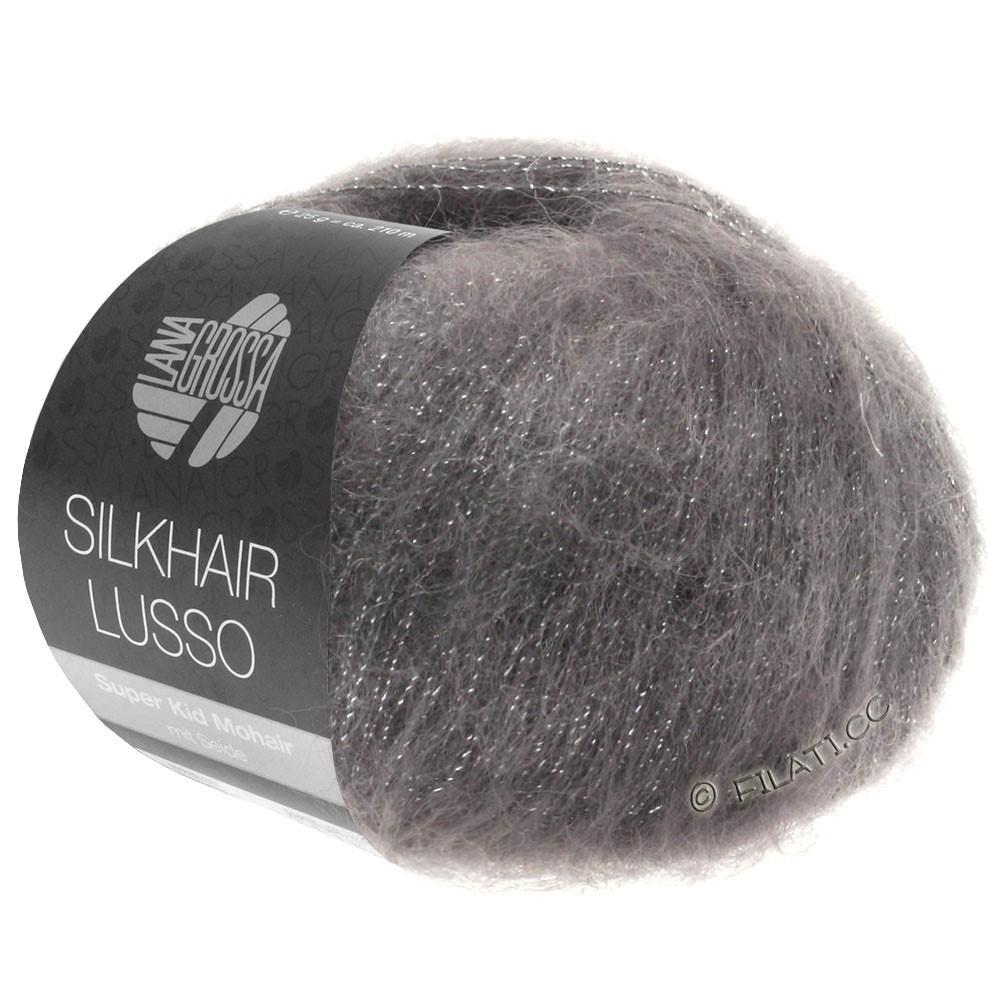 Lana Grossa SILKHAIR Lusso | 906-графит