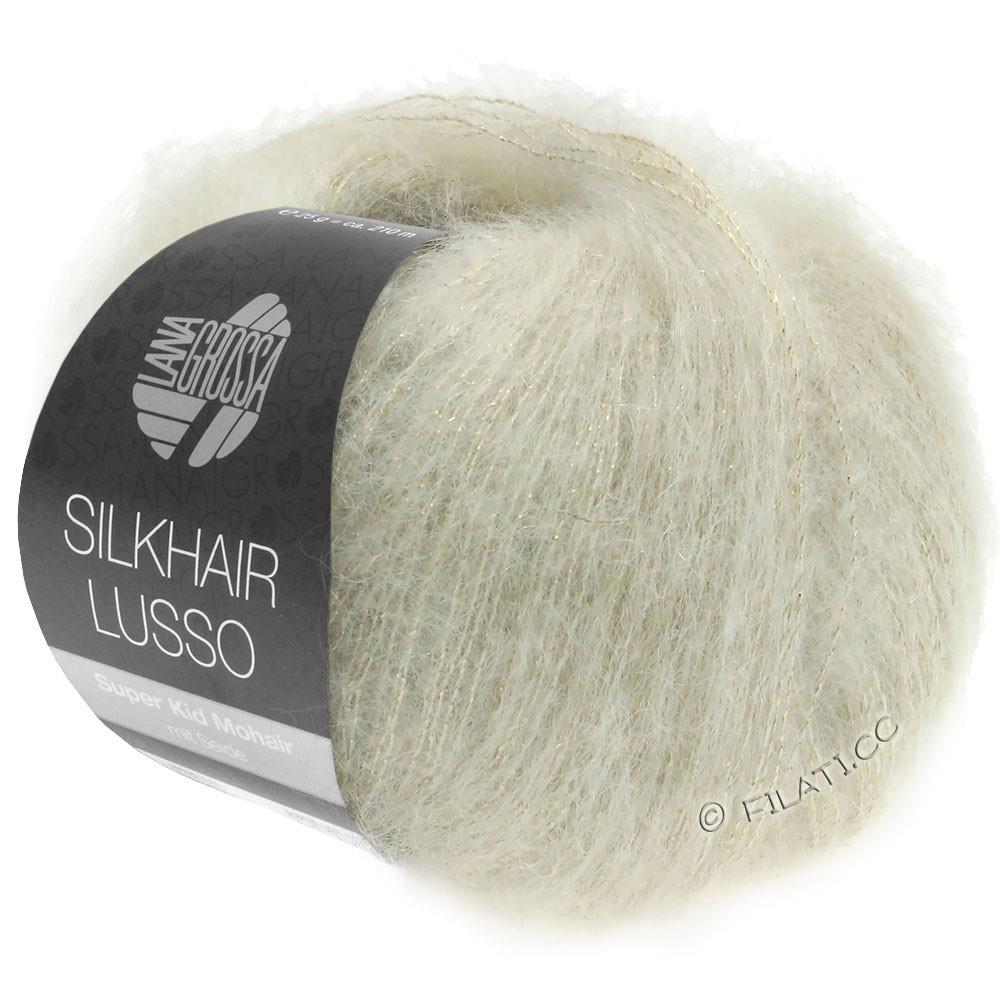 Lana Grossa SILKHAIR Lusso | 912-натуральный