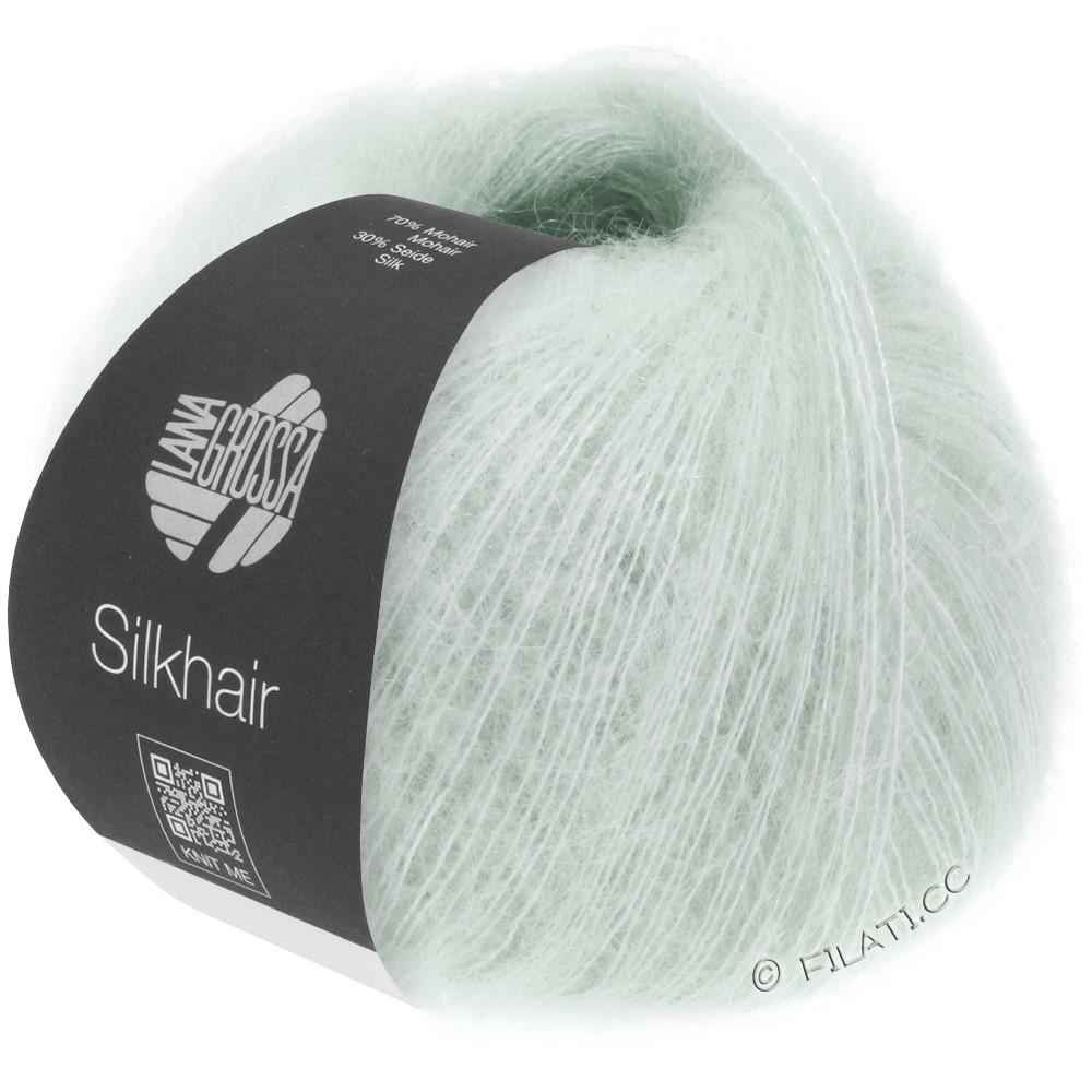 Lana Grossa SILKHAIR  Uni/Melange уни/меланж | 041-серебристо-серый