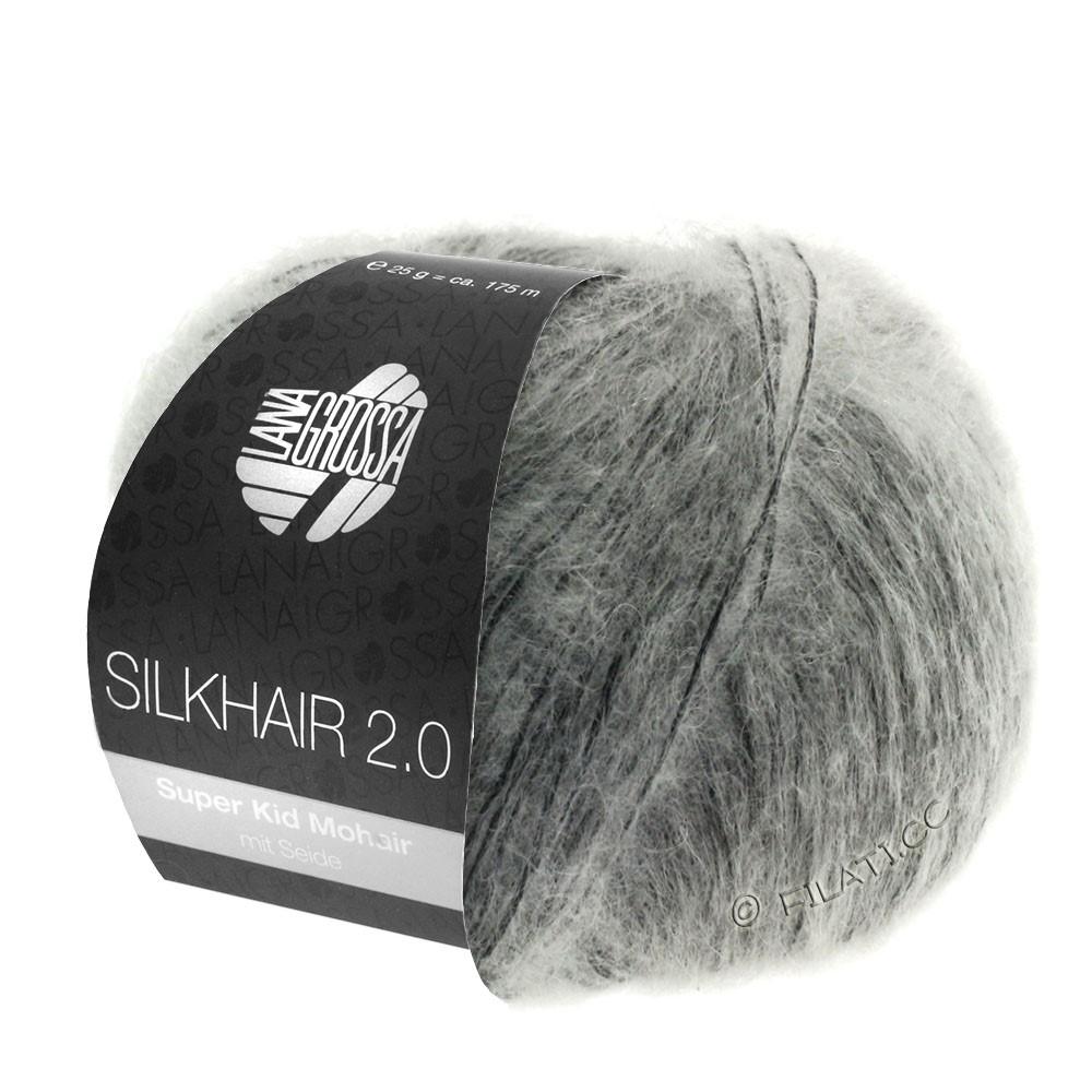 Lana Grossa SILKHAIR 2.0 | 02-серый