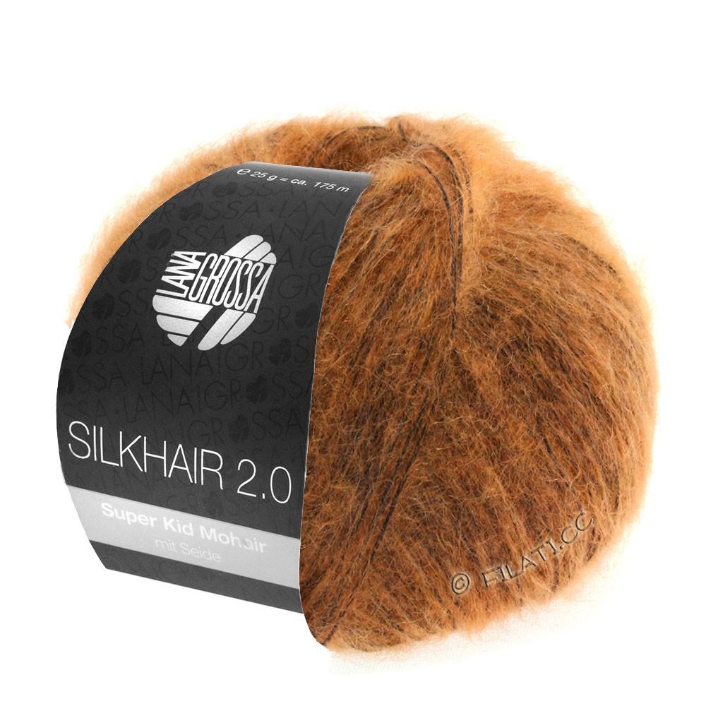 Lana Grossa SILKHAIR 2.0 | 05-оранжевый