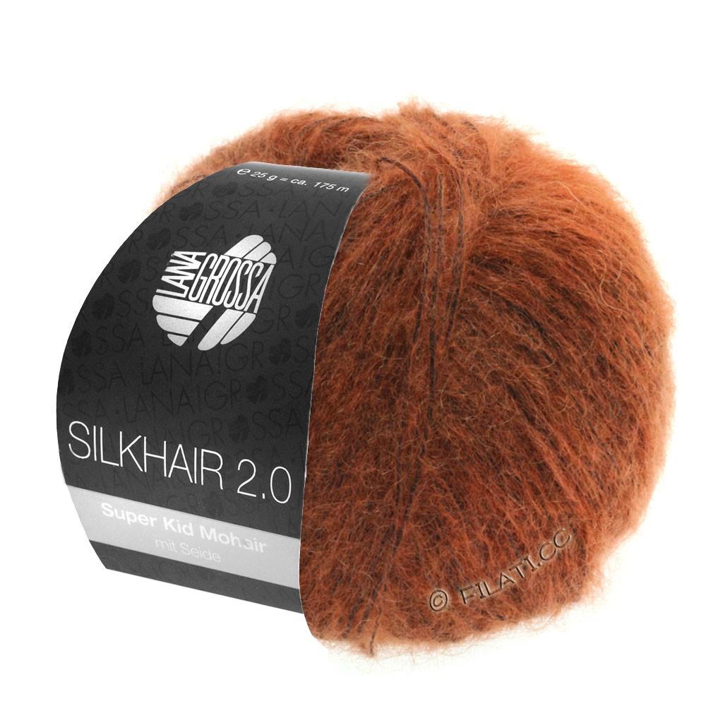 Lana Grossa SILKHAIR 2.0 | 06-цвет ржавчины