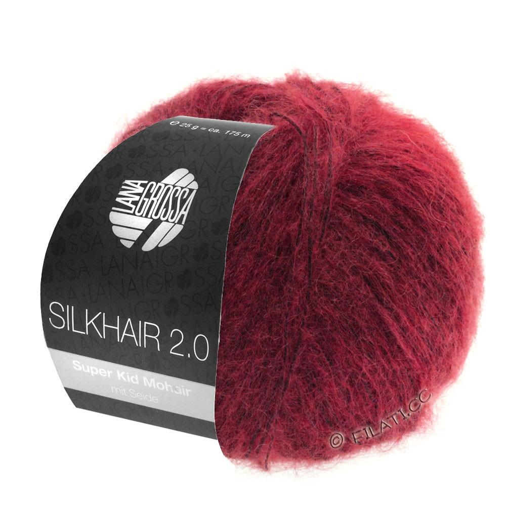 Lana Grossa SILKHAIR 2.0 | 07-красный