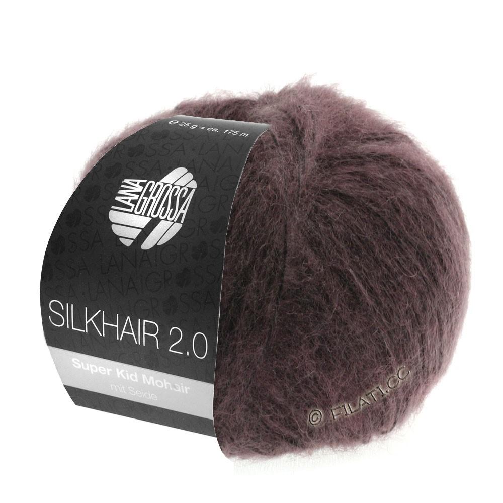 Lana Grossa SILKHAIR 2.0 | 08-ягодный