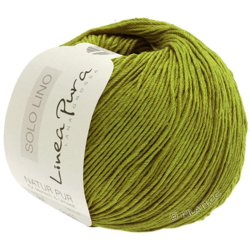 Lana Grossa SOLO LINO (Linea Pura) | 06-оливково-зеленый