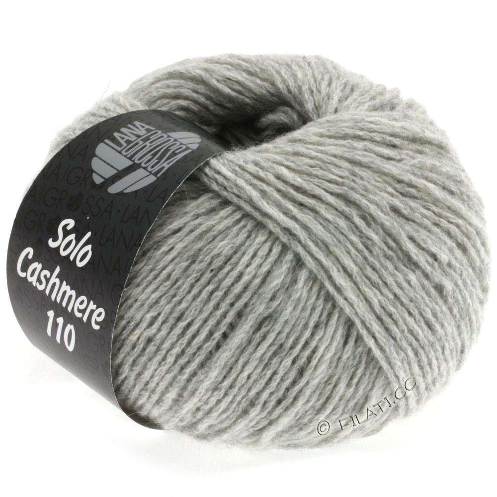 Lana Grossa SOLO CASHMERE 110   108-светло-серый меланжевый
