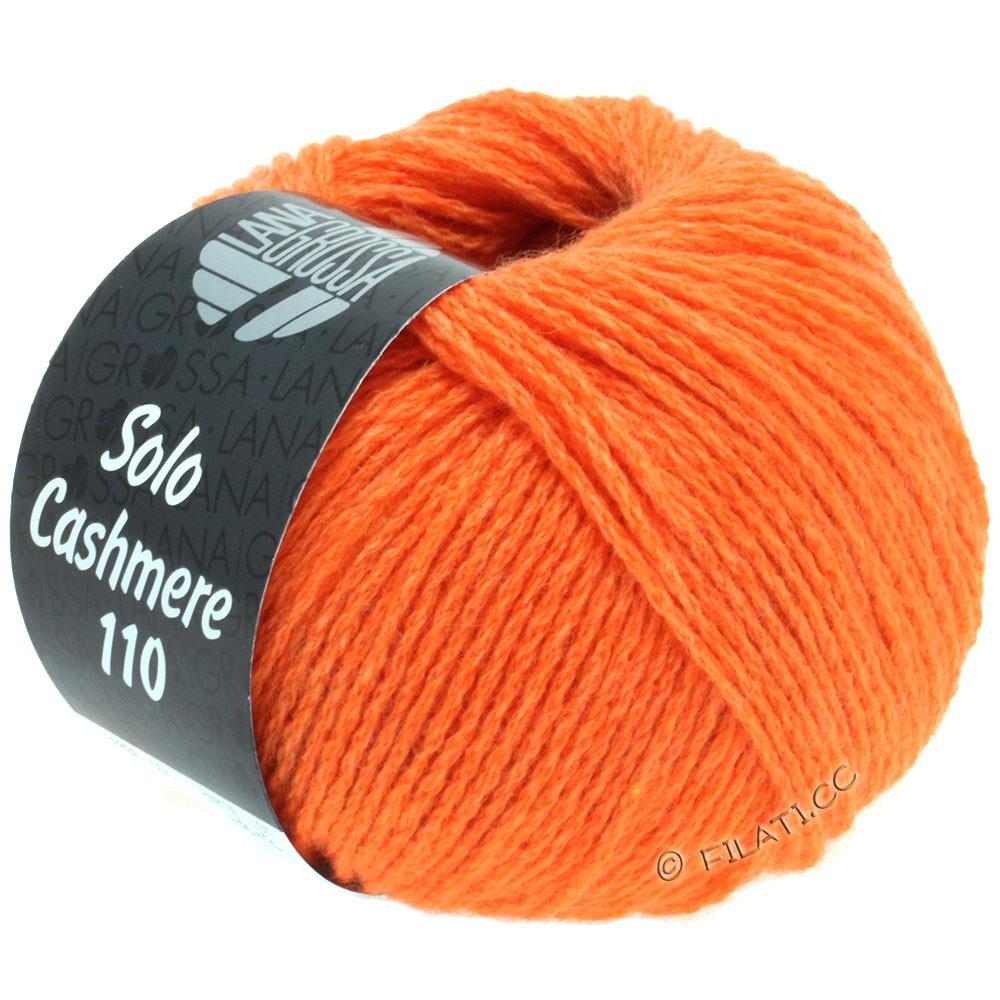 Lana Grossa SOLO CASHMERE 110   113-оранжевый