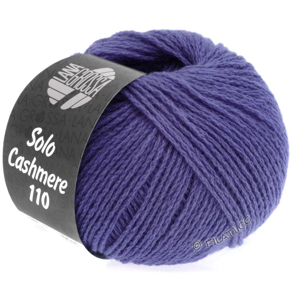 Lana Grossa SOLO CASHMERE 110   120-сине-фиолетовый