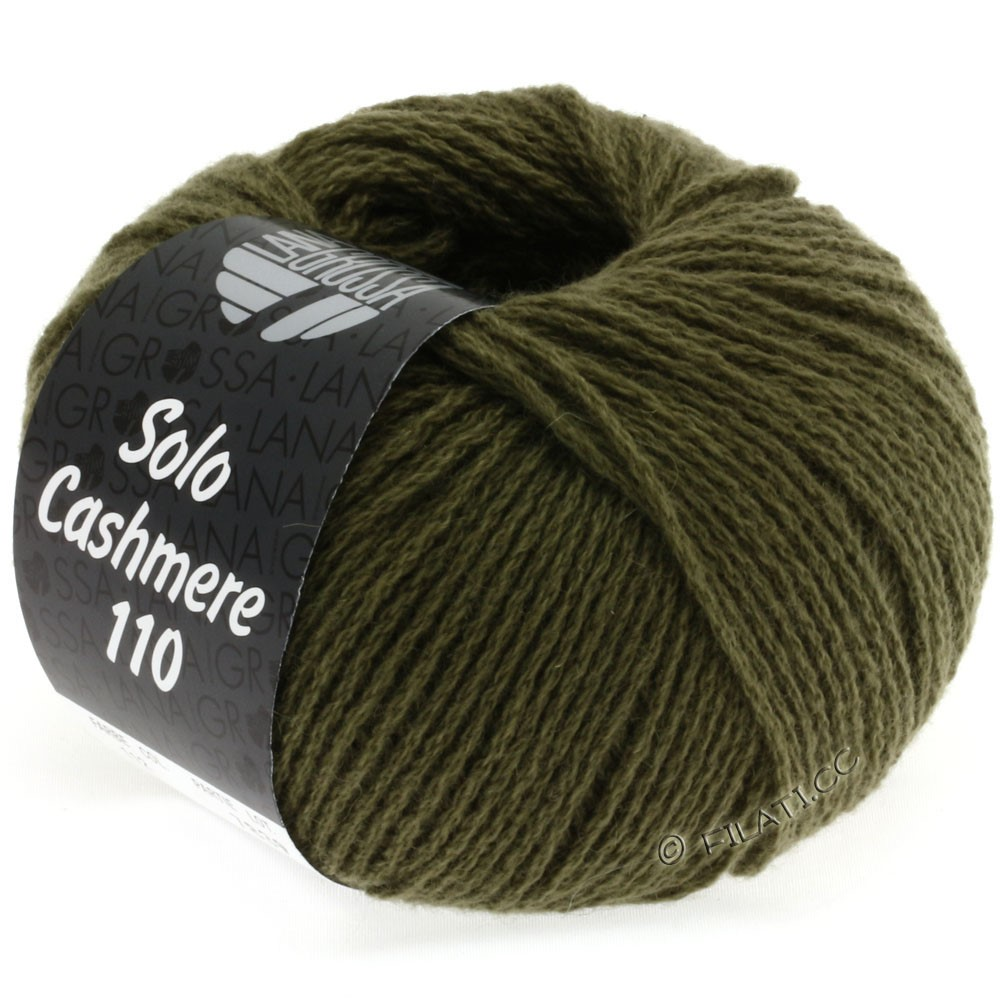 Lana Grossa SOLO CASHMERE 110 | 122-хаки