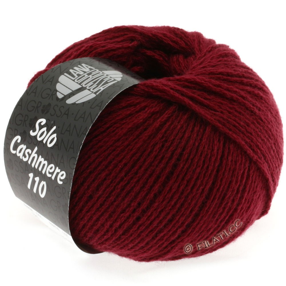 Lana Grossa SOLO CASHMERE 110 | 125-бордо