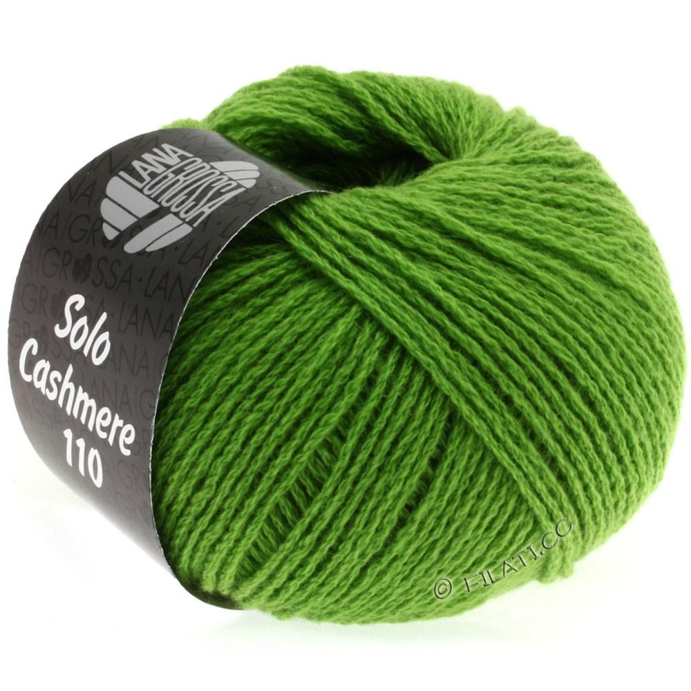 Lana Grossa SOLO CASHMERE 110   127-зелёный