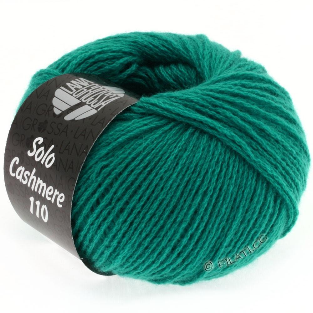 Lana Grossa SOLO CASHMERE 110   132-зелено-бирюзовый