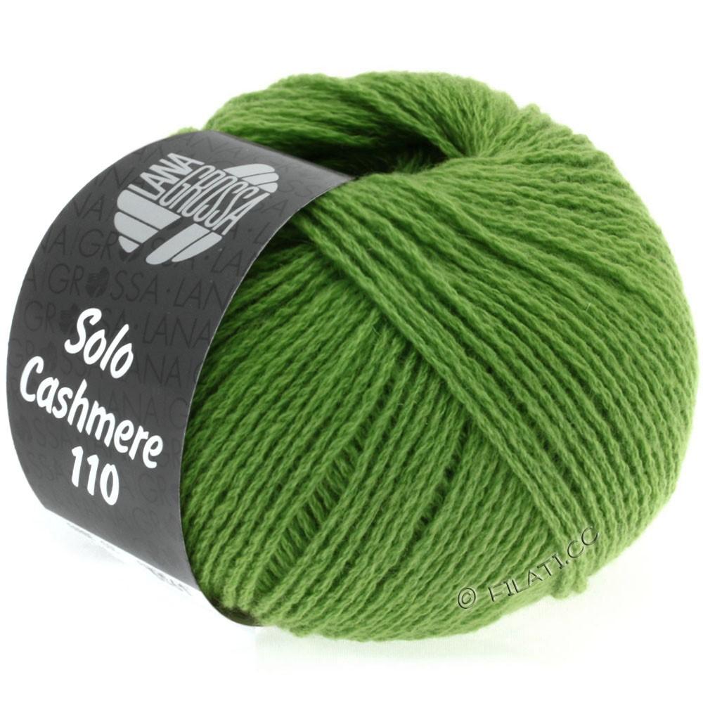 Lana Grossa SOLO CASHMERE 110   139-зелёный