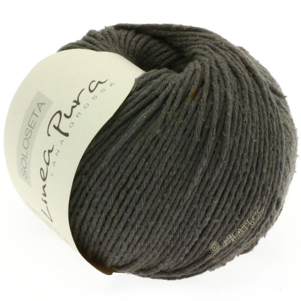 Lana Grossa SOLOSETA (Linea Pura) | 04-тёмно-серый
