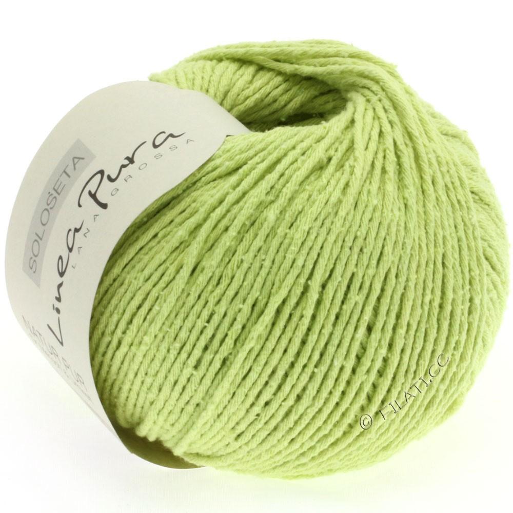Lana Grossa SOLOSETA (Linea Pura) | 06-пастельно-зелёный