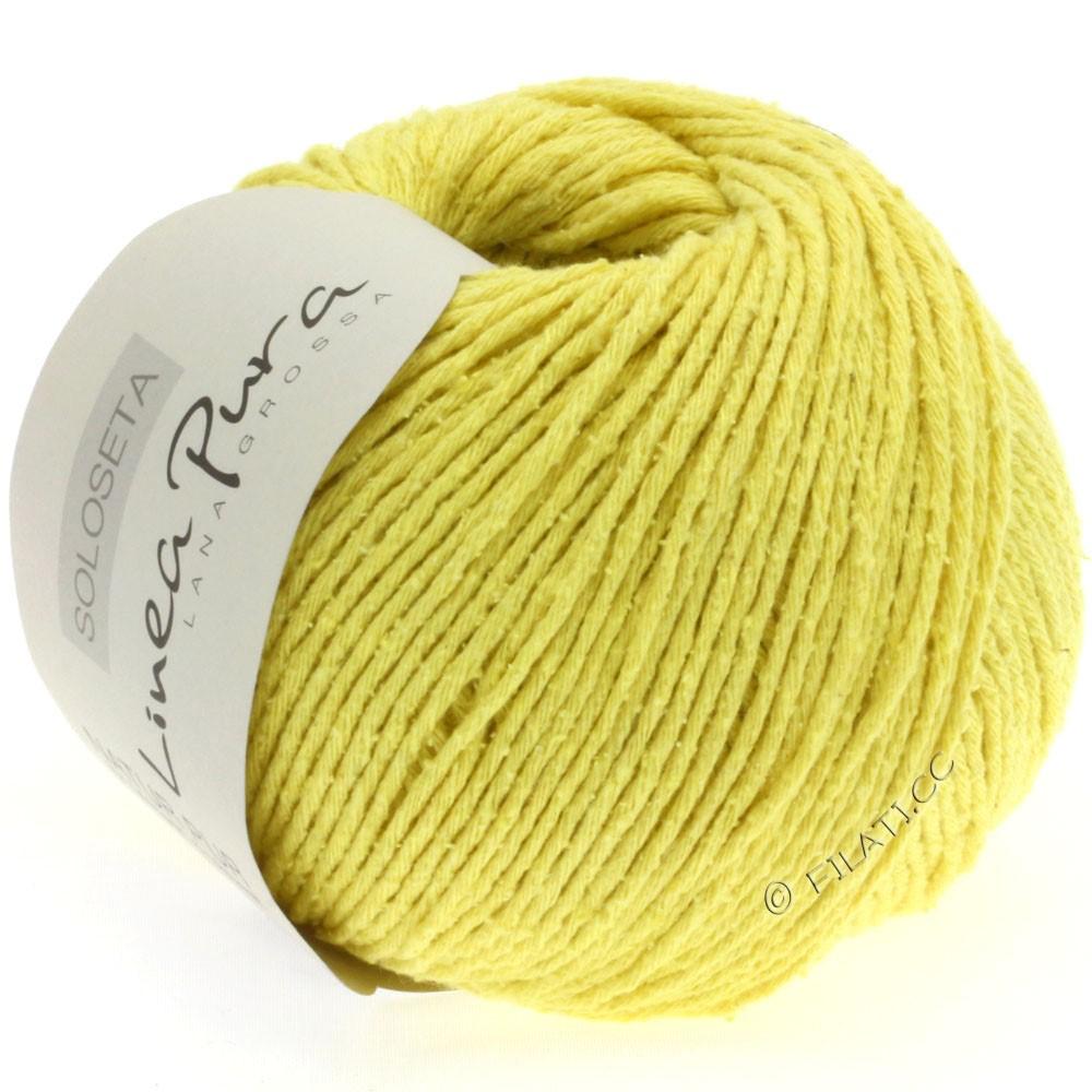 Lana Grossa SOLOSETA (Linea Pura) | 07-лимонно-жёлтый