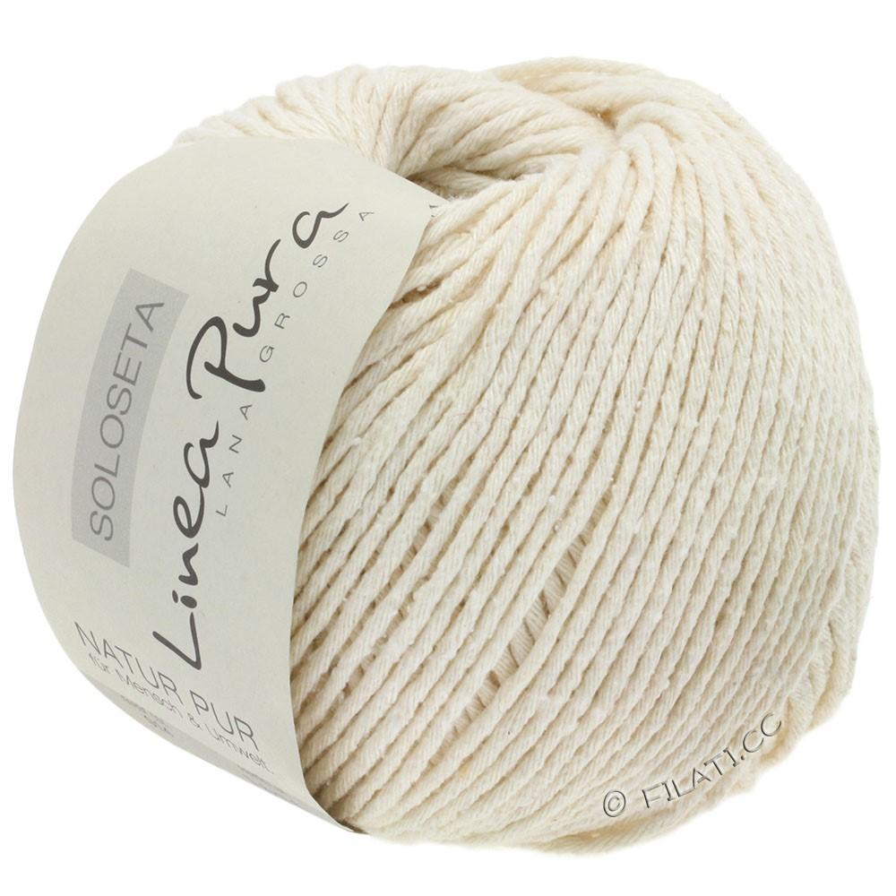 Lana Grossa SOLOSETA (Linea Pura) | 14-белый
