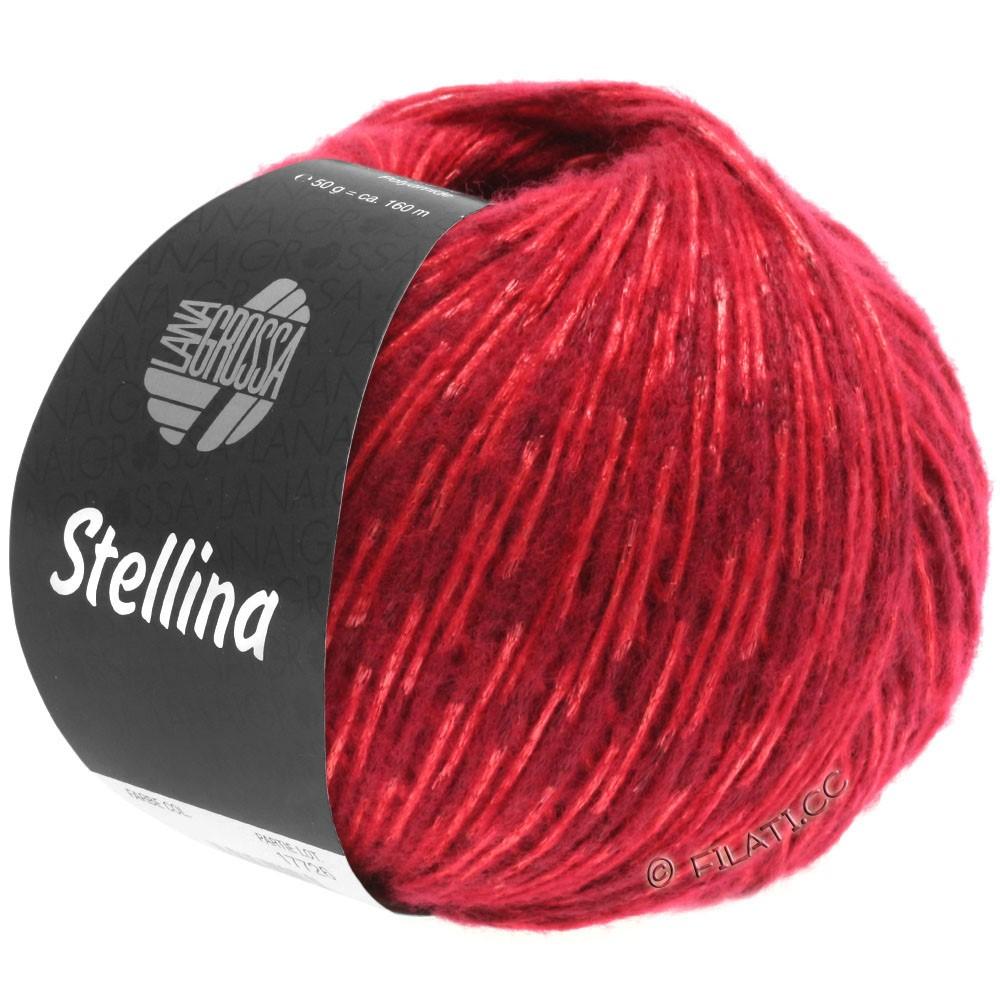 Lana Grossa STELLINA | 10-тёмно-красный/красный