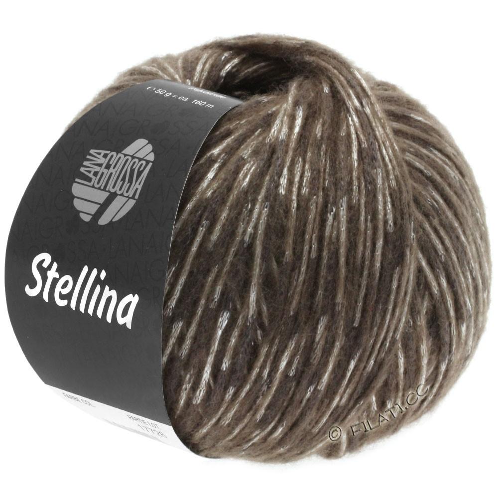 Lana Grossa STELLINA | 12-тёмно-коричневый/бежевый
