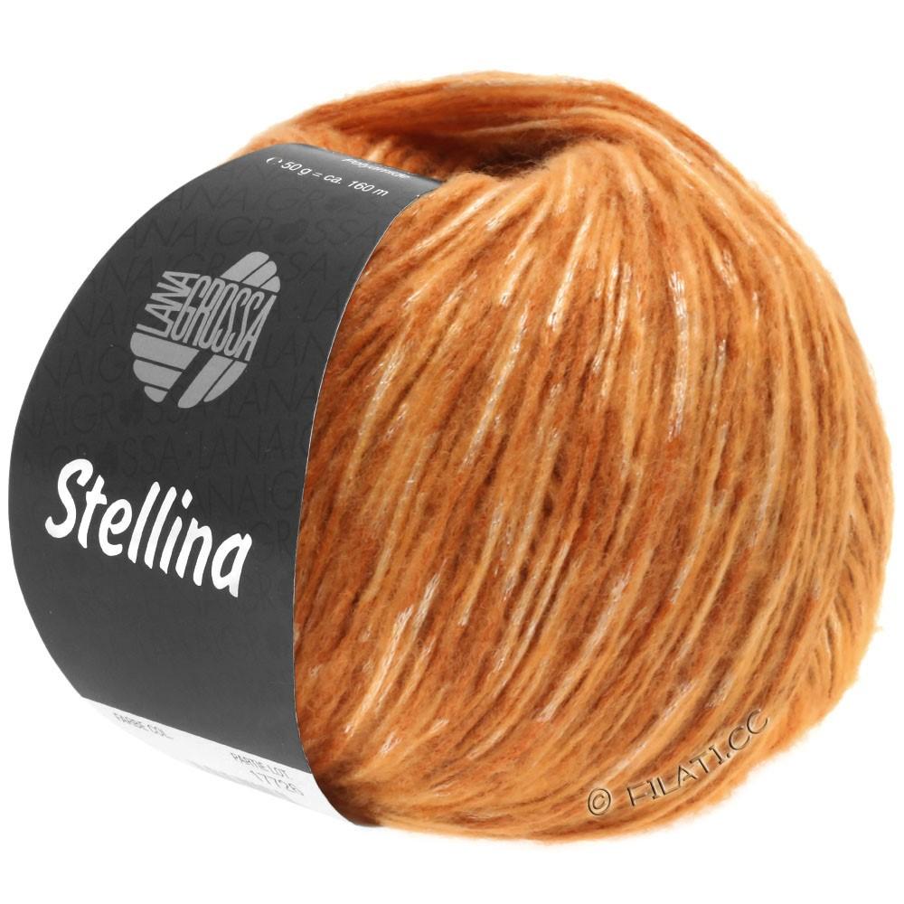 Lana Grossa STELLINA | 17-коньяка/оранжевый