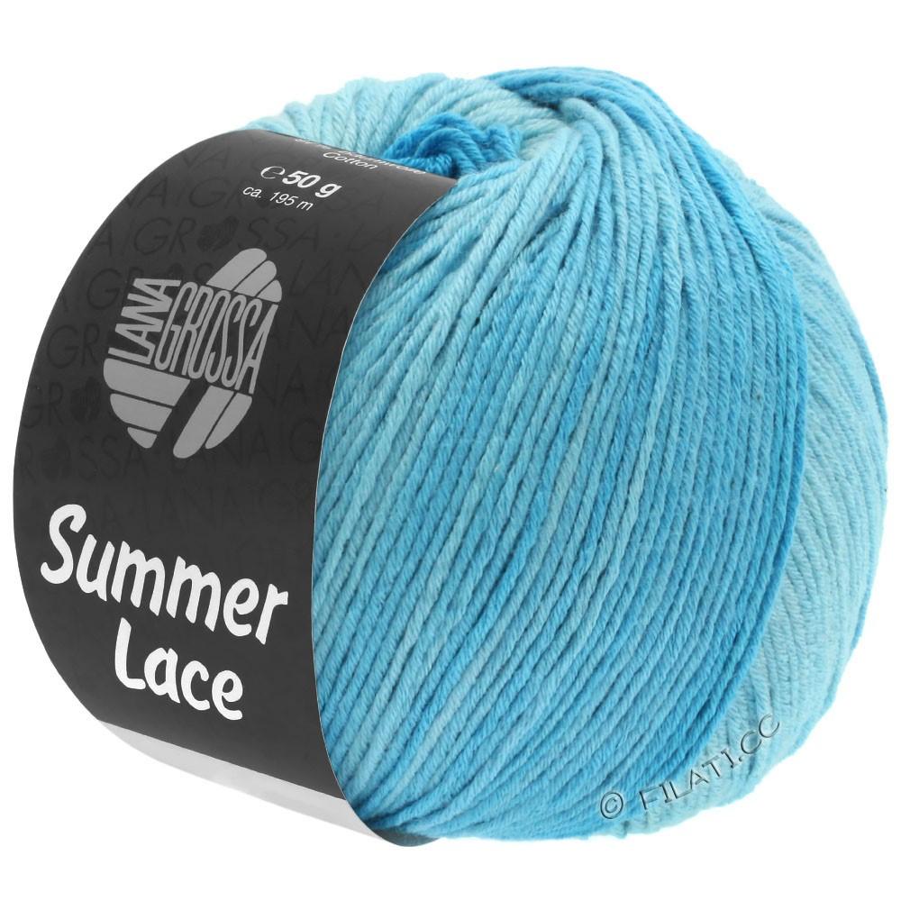 Lana Grossa SUMMER LACE DEGRADÉ | 103-мята/светло-бирюзовый/бирюзовый
