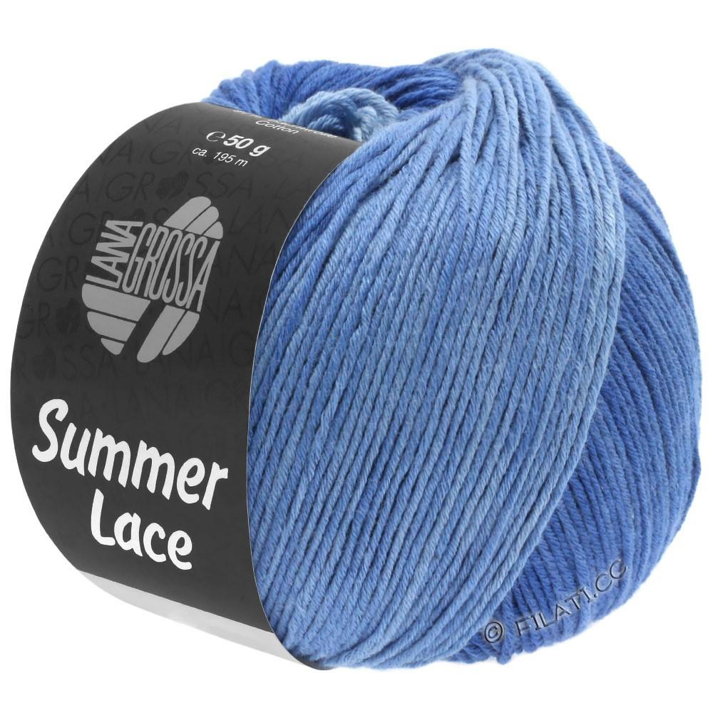 Lana Grossa SUMMER LACE DEGRADÉ | 108-светло-голубой/средне-синий/тёмно-синий