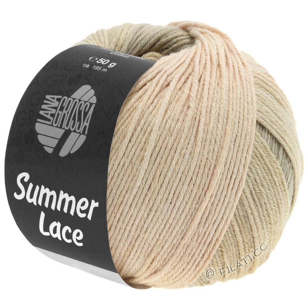 Lana Grossa SUMMER LACE DEGRADÉ   112-бежевый/песок/серо-коричневый