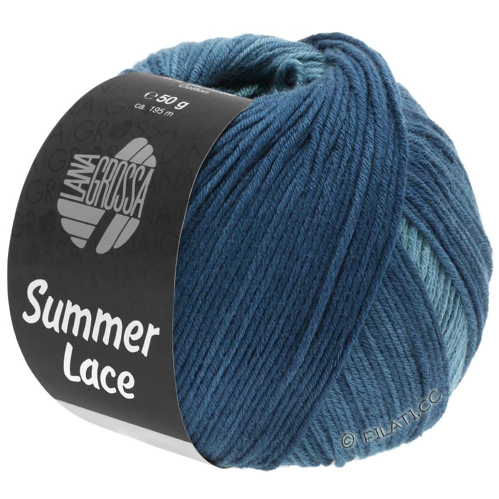 Lana Grossa SUMMER LACE DEGRADÉ   114-петроль зелёный/серо-синий/тёмно сине-зеленый