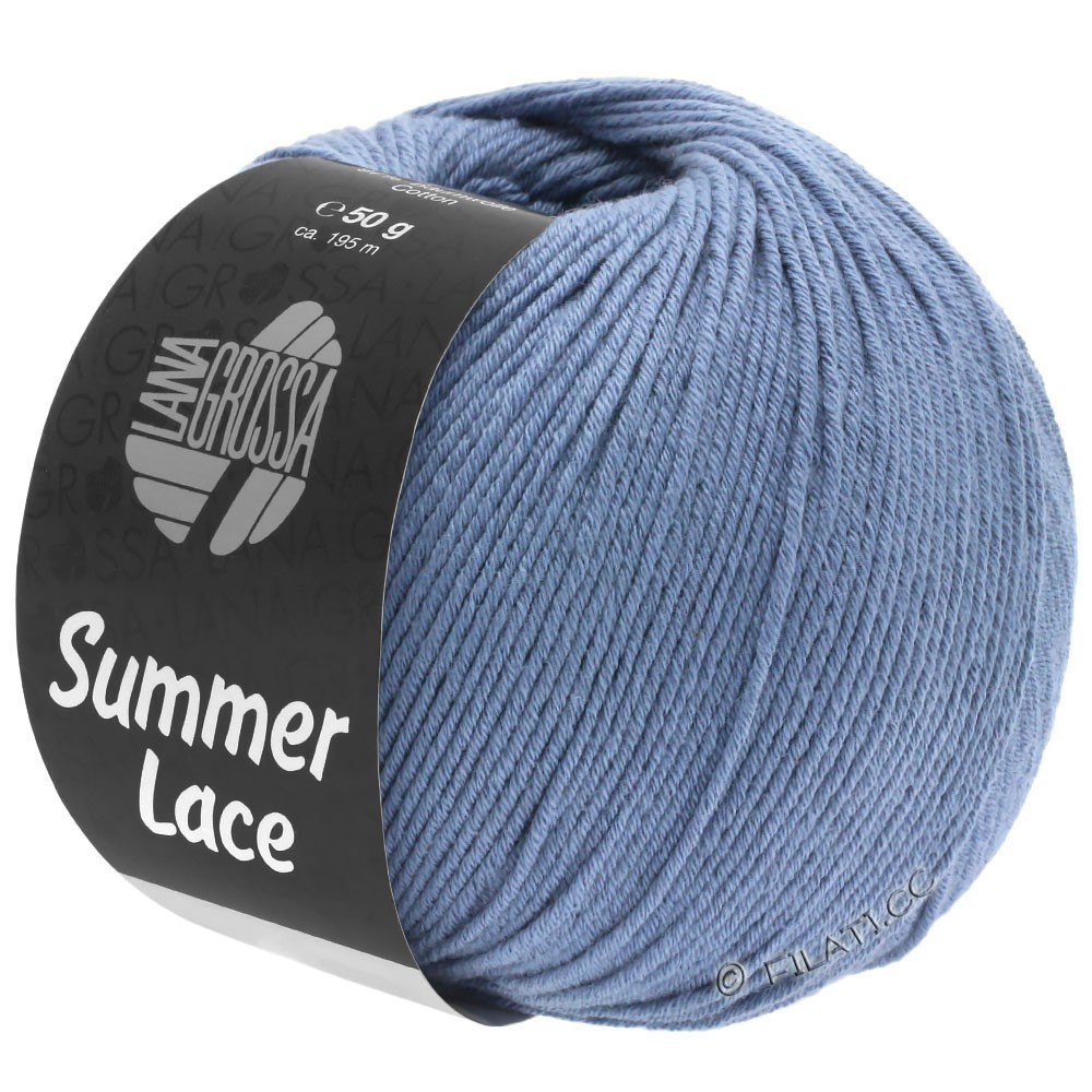 Lana Grossa SUMMER LACE | 05-голубой фиолетовый