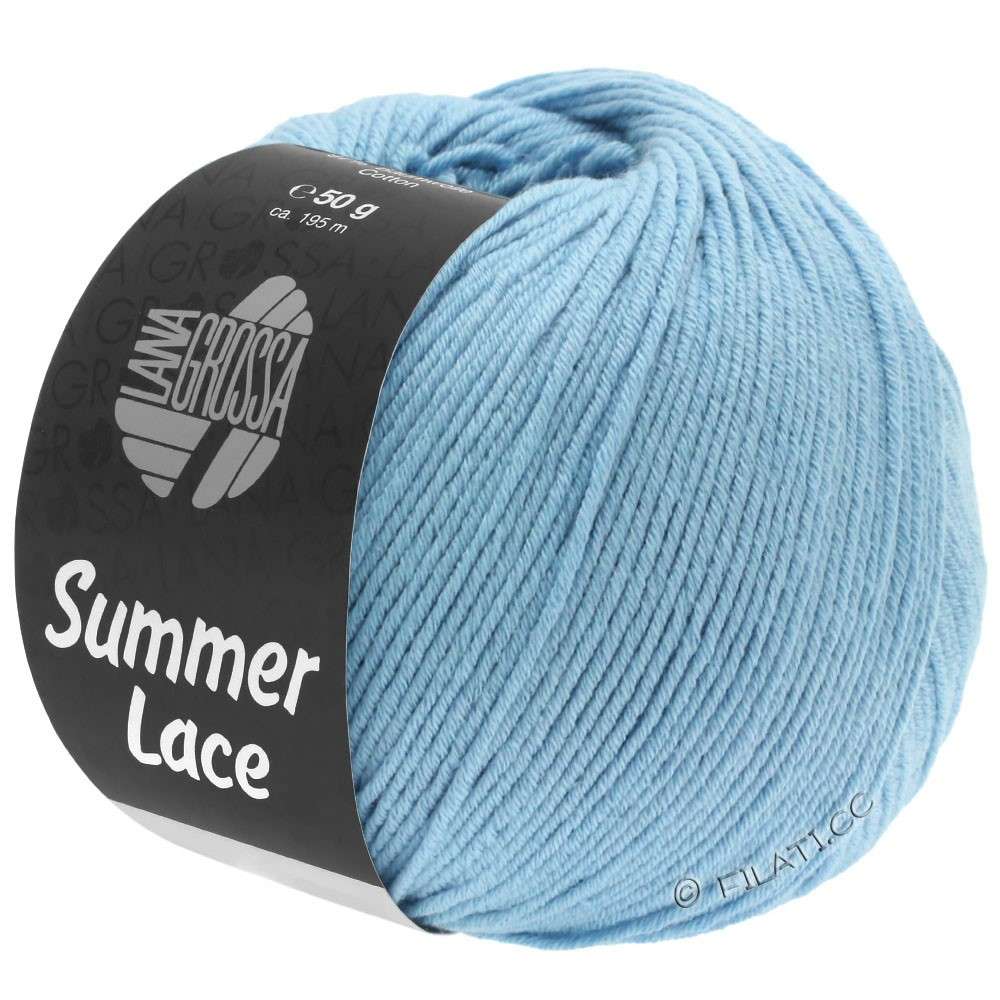 Lana Grossa SUMMER LACE | 06-светло-голубой