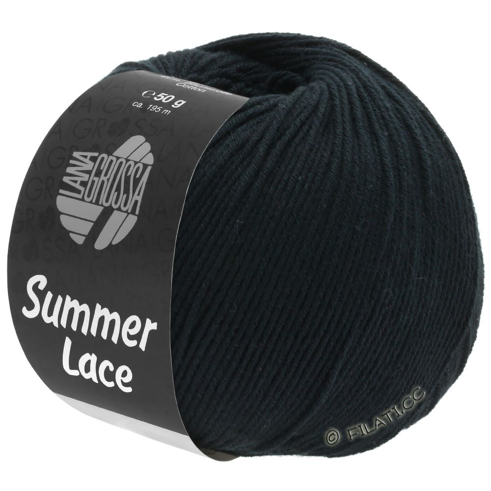 Lana Grossa SUMMER LACE | 16-черный