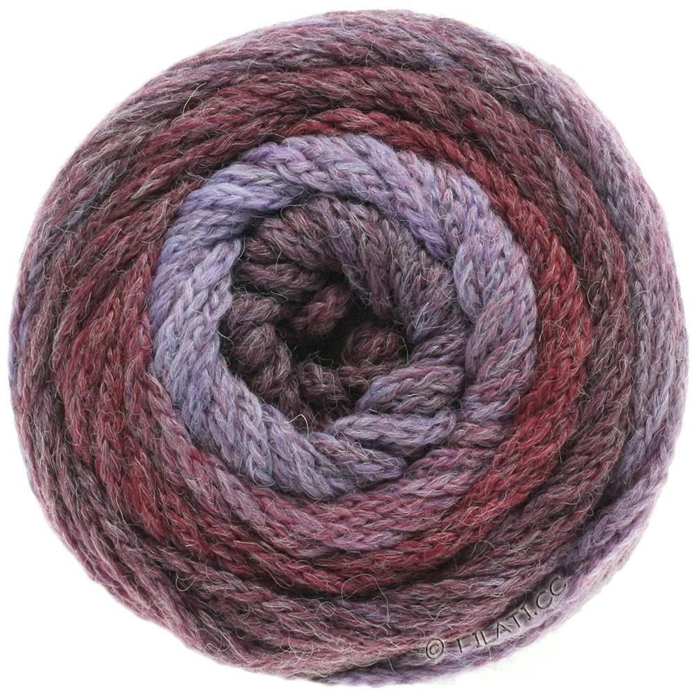 Lana Grossa SUPER COLOR | 105-пурпурный/ягодный/бордо/бузина