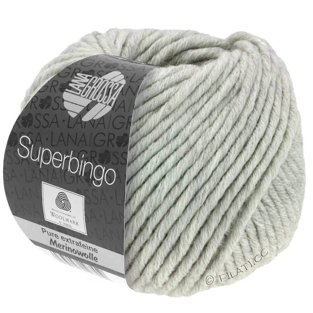 Lana Grossa SUPERBINGO | 014-светло-серый микс