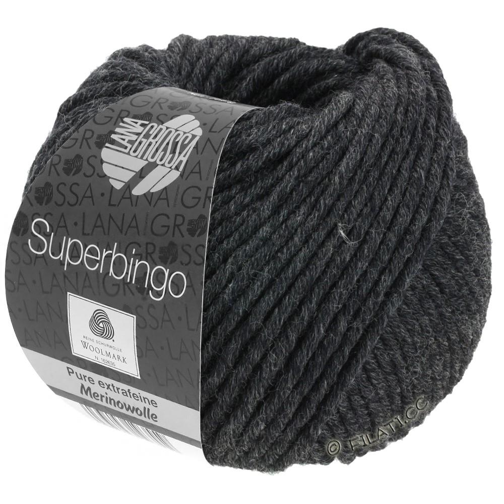 Lana Grossa SUPERBINGO | 015-антрацитовый
